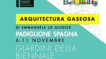 BIENNALE DI VENEZIA seminario e workshop 6-11 nov 2018